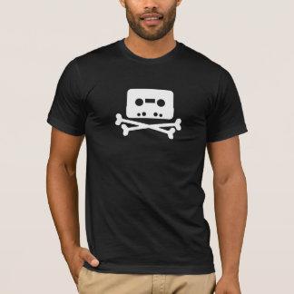 Piratfjärden tejpar logotypen t shirts
