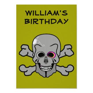 Piratfödelsedagsfest inbjudan