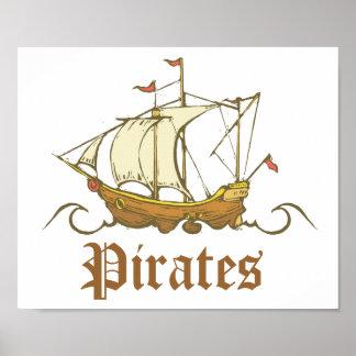 Piratfrakt Affischer