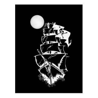 Piratfrakt på sjögångarna vykort