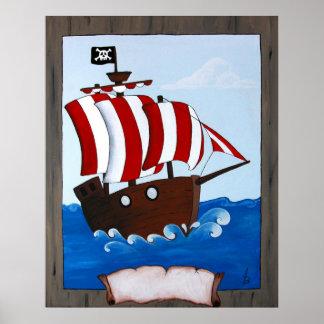 Piratfrakt Poster