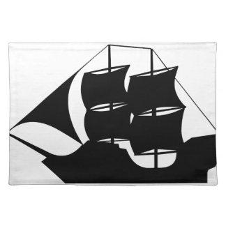 PiratfraktSilhouette Bordstablett