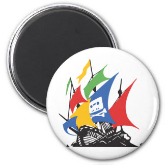PiratGoogle magnet Magneter För Kylskåp