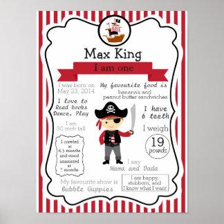 Piratkopiera den första födelsedagaffischen för en poster