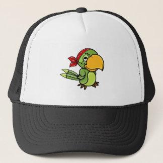 Piratkopierad papegoja truckerkeps