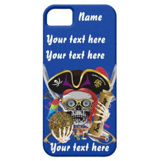 Piratkung som all viktig stilar beskåda antyder iPhone 5 Case-Mate skydd
