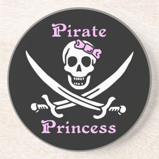 PiratPrincesskustfartyg Dryck Underlägg