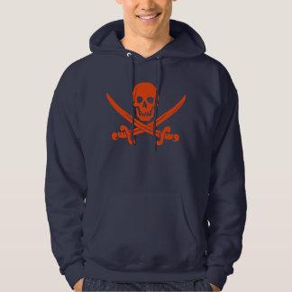 Piratskalle och svärdHoodie Hoodie
