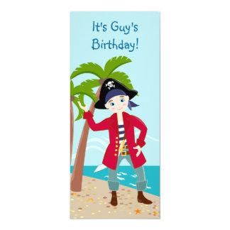 Piratungefödelsedagsfest inbjudan