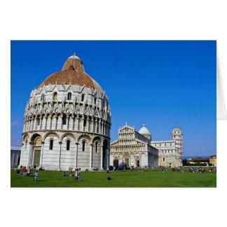 Pisa italien hälsningskort