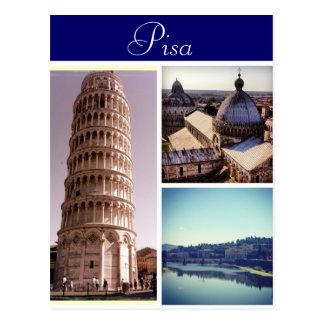 Pisa platser vykort