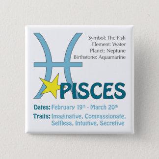 Pisces drag knäppas standard kanpp fyrkantig 5.1 cm