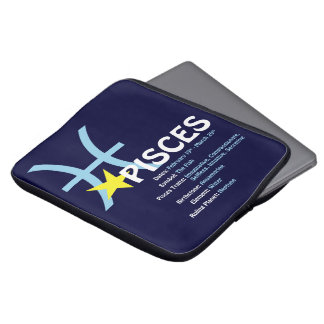 Pisces draglaptop sleeve