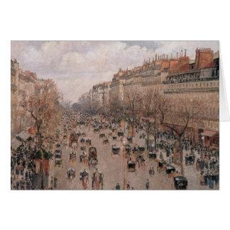 Pissarro BoulevardMontmartre kort