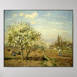 """Pissarros """"den fruktträdgård"""" - affischen"""