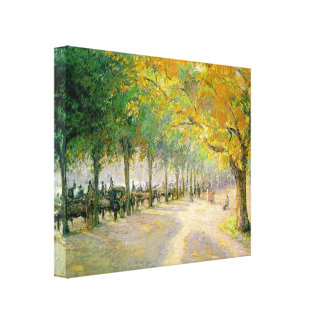 Pissarros 'Hyde Park Canvastryck