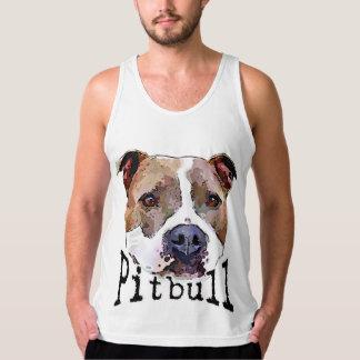 Pitbull hund tank top