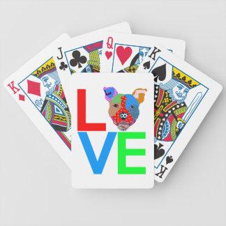Pitbull kärlek spelkort