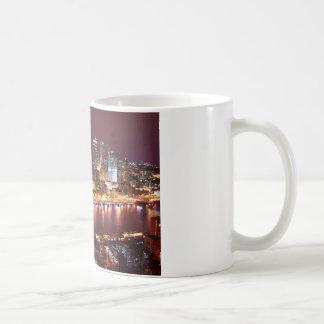 Pittsburgh Cityscape Kaffemugg