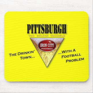 Pittsburgh Drinkin Town med ett fotbollproblem Musmatta