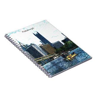 Pittsburgh horisont anteckningsbok