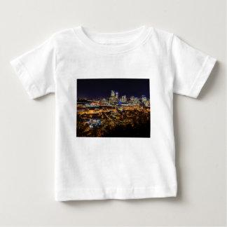 Pittsburgh horisont på natten tshirts