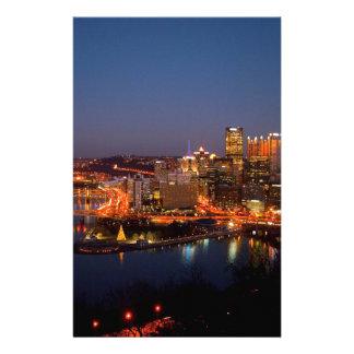Pittsburgh natthorisont brevpapper