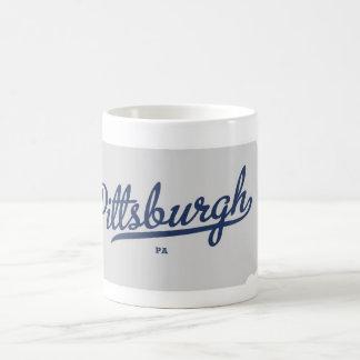 Pittsburgh PA Kaffemugg