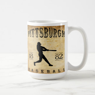Pittsburgh Pennsylvania baseball 1882 Kaffemugg