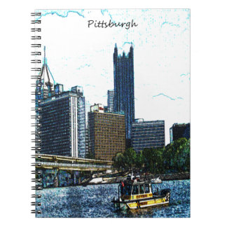 Pittsburgh Pennsylvania horisont Anteckningsbok