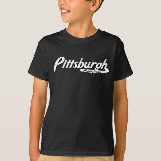 Pittsburgh Pennsylvania vintagelogotyp Tee Shirt