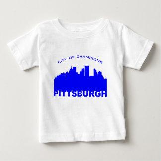Pittsburgh: Stad av mästareblått T Shirt