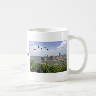 Pittsburgh stad Pennsylvania Kaffemugg