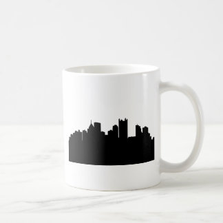 Pittsburgh stadshorisont kaffemugg