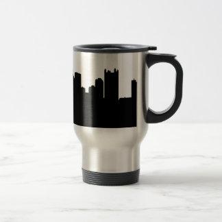 Pittsburgh stadshorisont resemugg