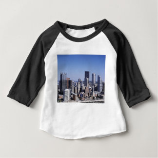 Pittsburgh stadshorisont t shirt