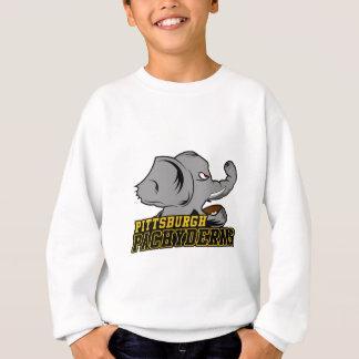 Pittsburgh tjockhudinglager t-shirt