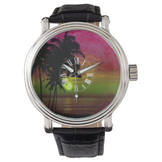 PixDezines hawaii solnedgång Armbandsur