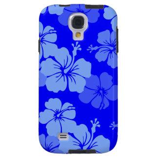 PixDezines hibiskus/diy bakgrundsfärg Galaxy S4 Fodral