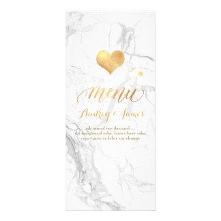 PixDezines marmor/skenmeny/Fauxguld Reklamkort