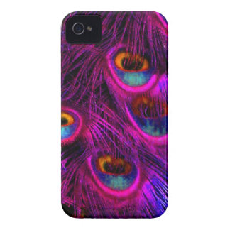PixDezines Psychedellic påfågel Case-Mate iPhone 4 Case