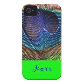 PixDezines Psychedellic Peacock/DIY Case-Mate iPhone 4 Skydd