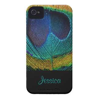 PixDezines Psychedellic Peacock/DIY iPhone 4 Fodraler