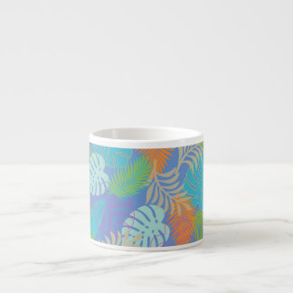 PixDezines rainforest/DIY bakgrundsfärg Espressomugg