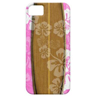 PixDezines surfa stiger ombord+hibiskus/diy iPhone 5 Case-Mate Skydd
