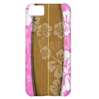 PixDezines surfa stiger ombord+hibiskus/diy iPhone 5C Fodral
