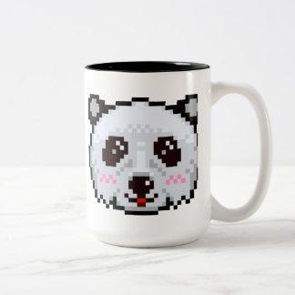 PIXEL-Konst Panda Två-Tonad Mugg