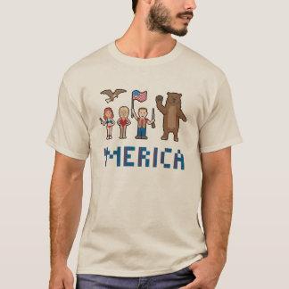 PIXEL Merica Tee Shirt