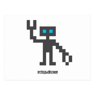 Pixel_Robot Vykort