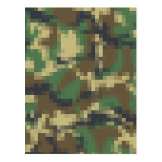 PIXELkamouflage Vykort